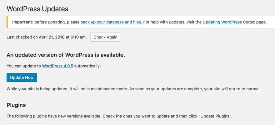Wordpress uppdatera teman