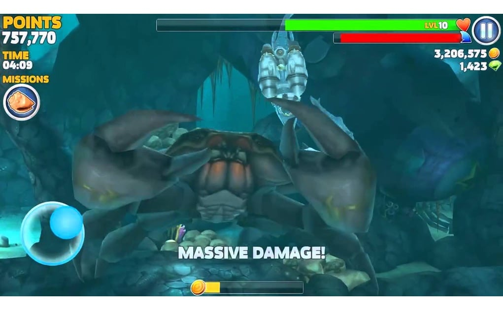 hungry-shark-evo-crab-boss