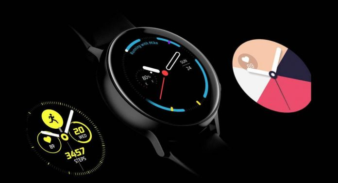 Samsung Galaxy Watch Active svart
